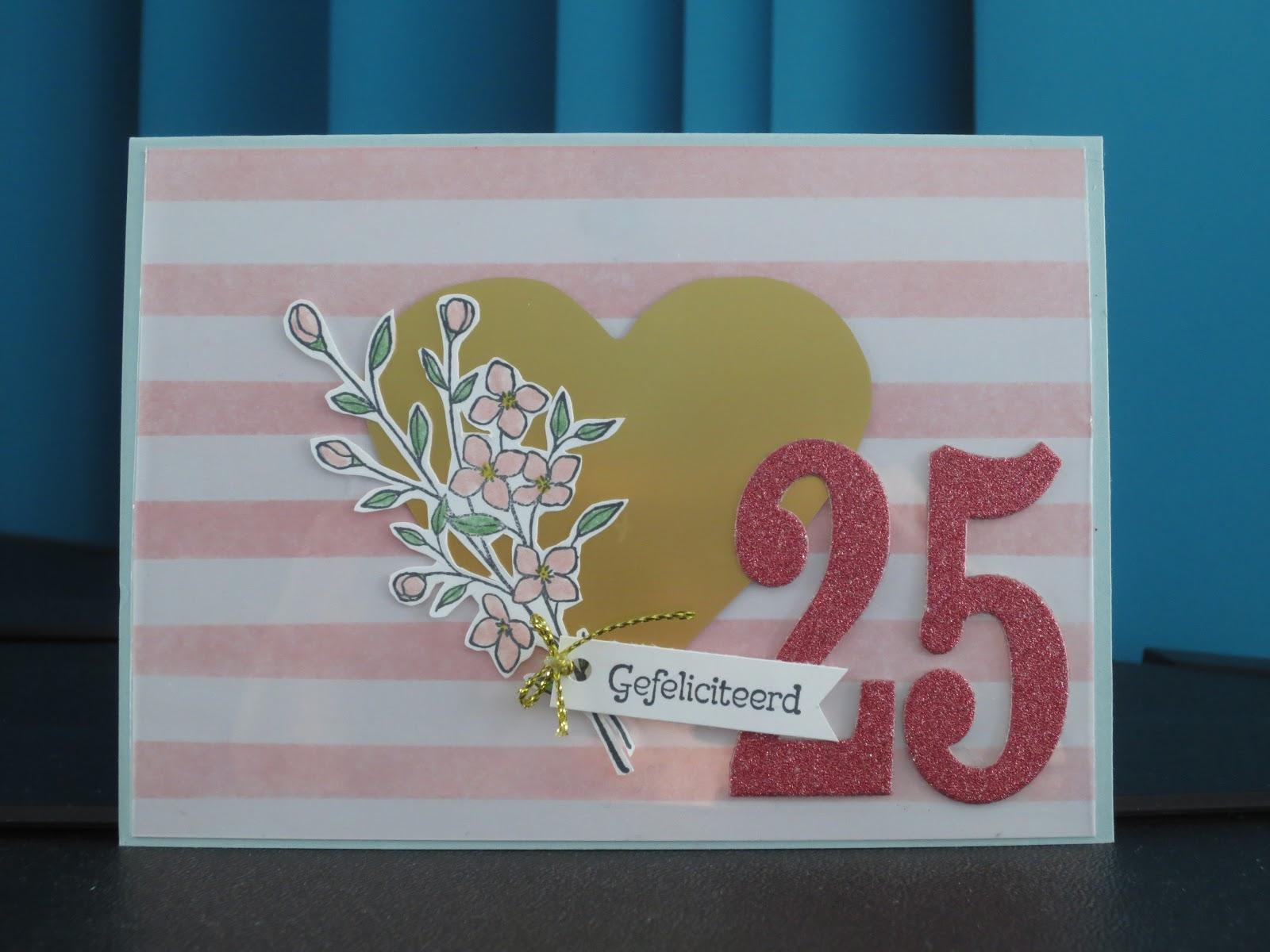 abc 25 jaar getrouwd Stampinggranny   Ankie: 25 jaar getrouwd abc 25 jaar getrouwd