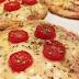 Receita de pizza fit caseira com massa de batata doce