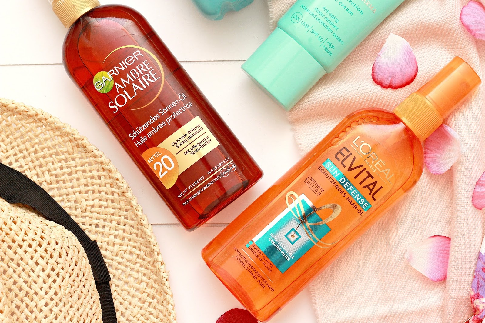 Sun Protection for Hair & Skin