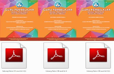 Download Modul Pelatihan Guru Pembelajar SD Kelas Tinggi Versi Pdf