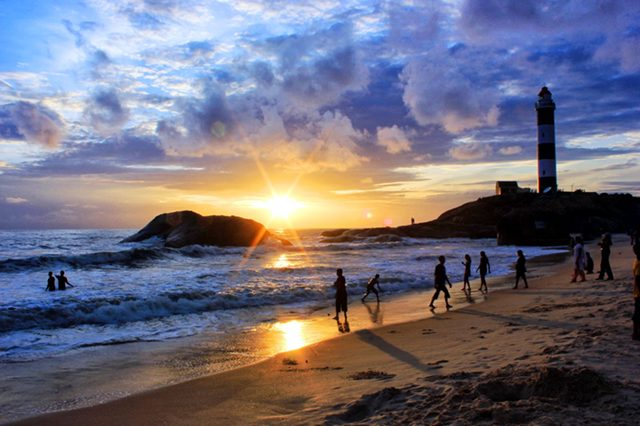 Image result for Mangalore beach and lighthouse: Source