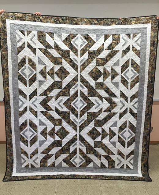 Jayne's Bravo Indigo Quilt Free Pattern