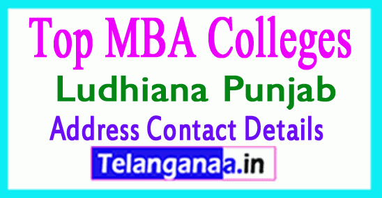 Top MBA Colleges in Ludhiana Punjab