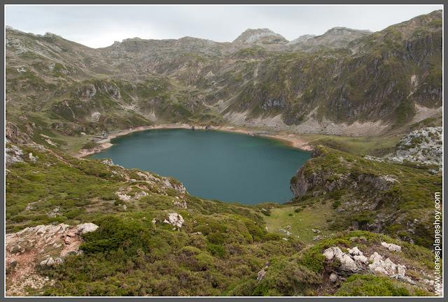 Lago Calabazosa, Ruta lagos de Saliencia