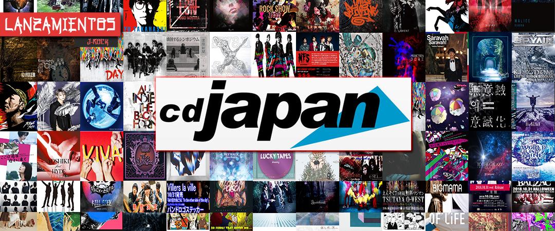 LANZAMIENTOS J-ROCK OCTUBRE 2018 - CD JAPAN