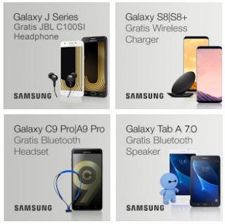 Samsung Kembali Beri Arti Promo J Prime , S8 , C9 Pro dan Tab A 7