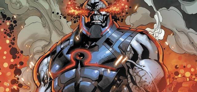 Snyder Cut: Zack Snyder divulga primeira imagem de Darkseid