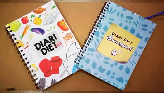 diari diet, panduang untuk kurus, cara kurangkan berat badan