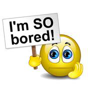 So Bored Smiley | Symbols & Emoticons