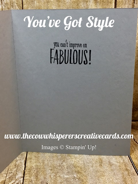 Card, You've Got Style, Stampin Blends, Funny