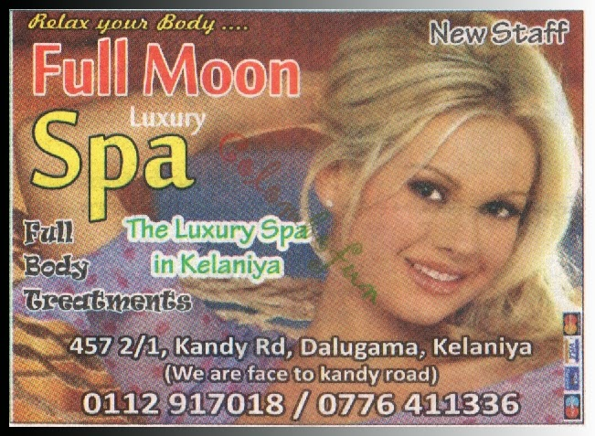 Full Moon Spa - Kelaniya - colombofun