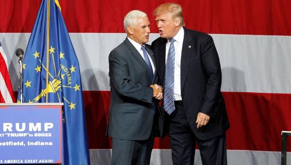 Trump ya tiene compañero de fórmula, Mike Pence