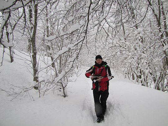 Przez krainę śniegu.