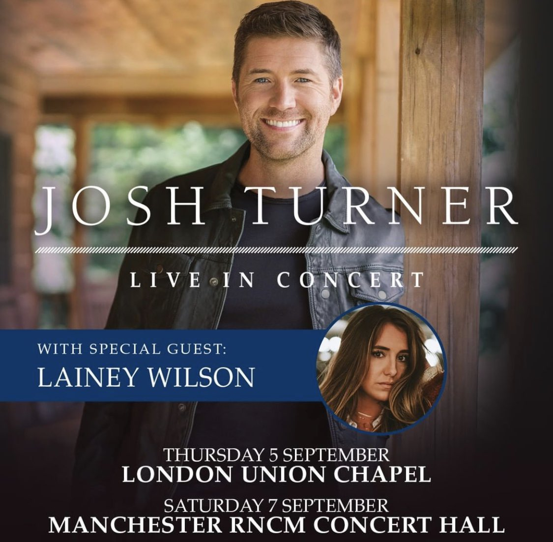 da0dd932b2cb2 American country  gospel singer and actor Josh Turner has added 2 more  dates in London   Manchester to tag onto his appearance at The Long Road  Festival ...
