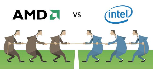 اعرف الفرق بين معالجات Intel وAMD على موقع ايجى كول