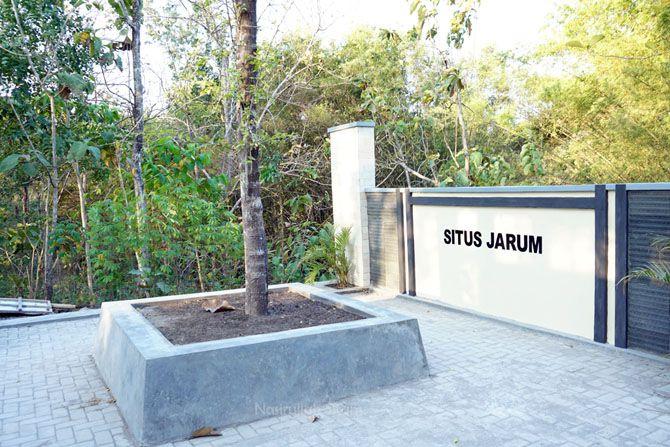 Petilasan asal muasal nama Desa Jarum