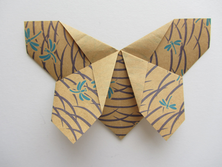 Origami-Instructions.com: Origami Matthews Butterfly - photo#23