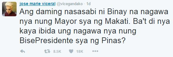 Vice Ganda reacts on the recently concluded third Presidential debate 2016! Check this out!