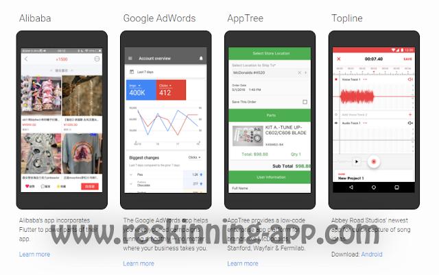 شرح Flutter من جوجل لبناء تطبيقات أندرويد و IOS مجانا