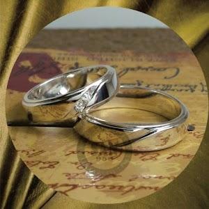 cincin emasputih perak p5771