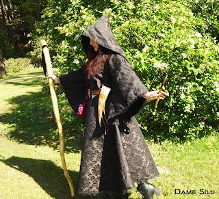 Costume sorcière noir