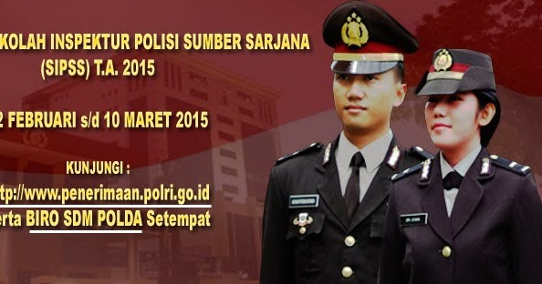 Syarat Daftar Masuk Polri/ Polisi TA 2019, 2020, 2021