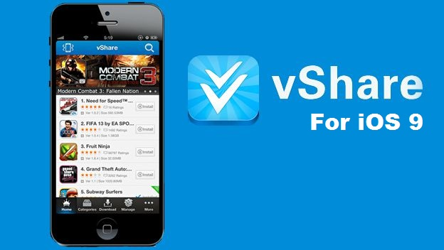 vShare app for ios