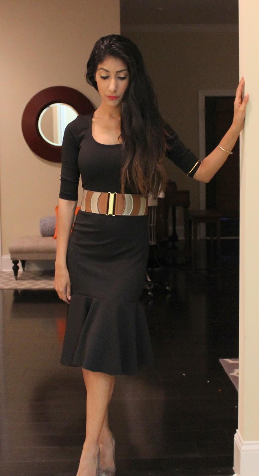 Diva Zappa Knitted Dress : Fabric mart fabricistas vatsla s little black knit dress