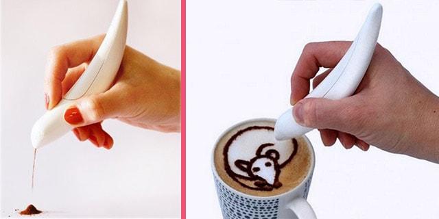 kahve süsleme teknik