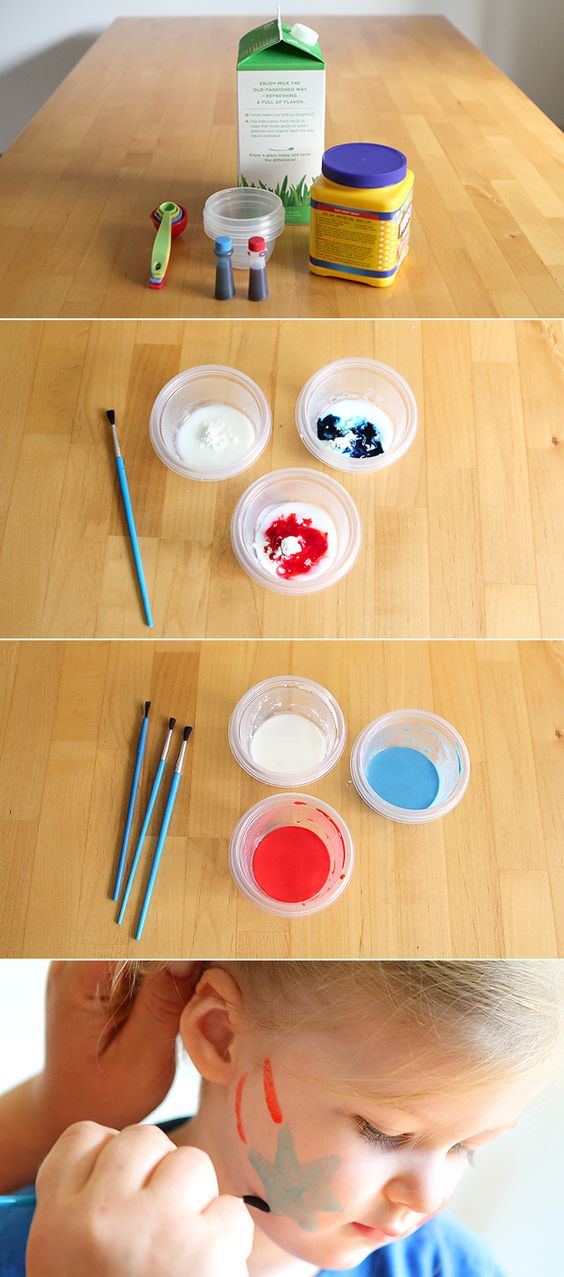 5 Easy Ways To Make Face Paint At Home How Fun My Kids Love