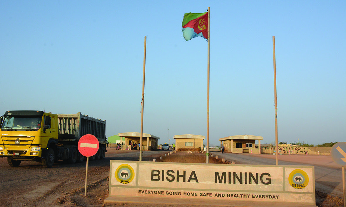<Nevsun extends life of its Bisha mine in Eritrea until the end of 2022