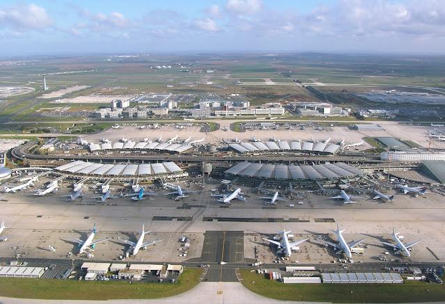 Lotnisko Charles'a de Gaulle'a (CDG)