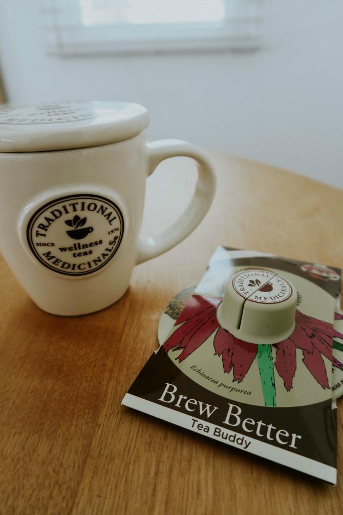 Traditional medicinals herbal teas