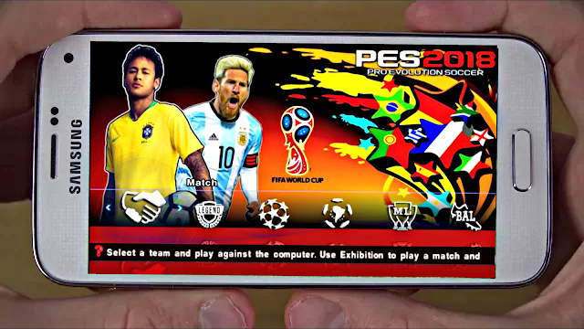 Download PES 2018 World Cup Russia Edition Android Offline 700 MB Best Graphics