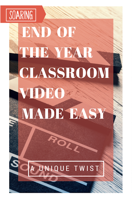 An incredibly easy, different approach to put together your end of the year class video (or open house video!). And it only takes a second!