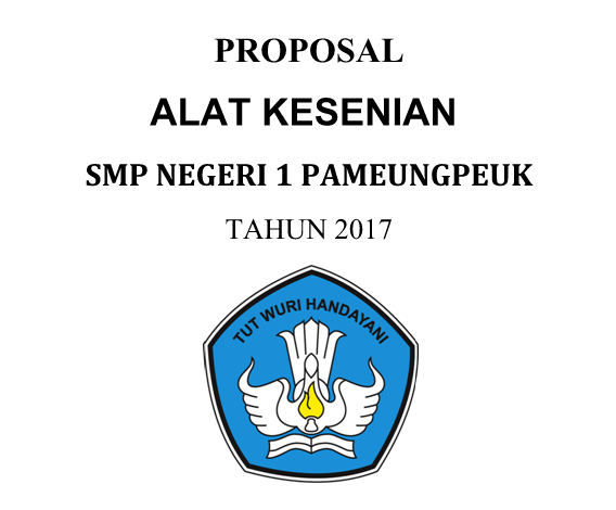 Proposal Kesenian