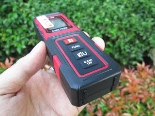 Laser Pengukur Jarak DEKO X-40 New Mini Digital Range Finder Jangkauan 40m
