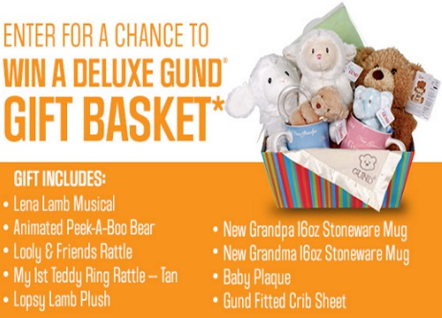 Sears Deluxe Gund Gift Basket Contest