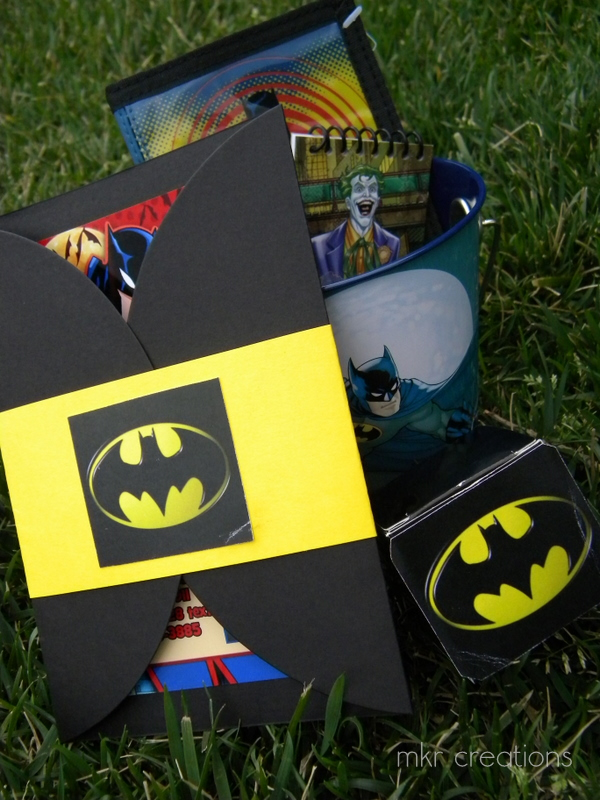 Mkr Creations Batman Party Theme