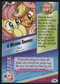 MLP A Welcome Surprise Series 4 Trading Card