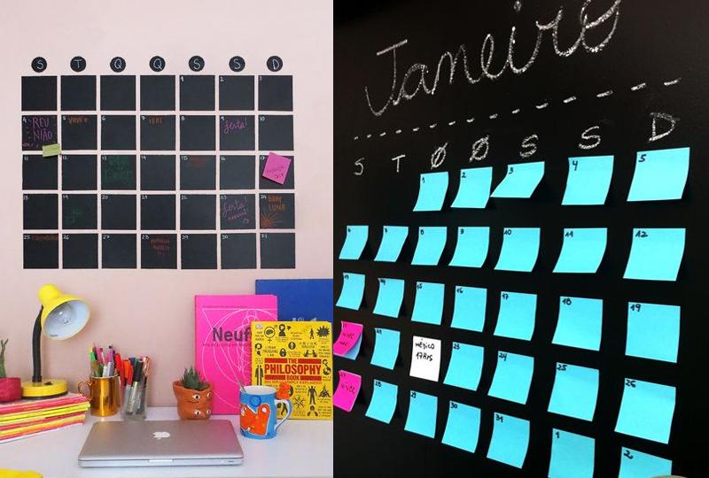 Inspiração: Calendário de parede