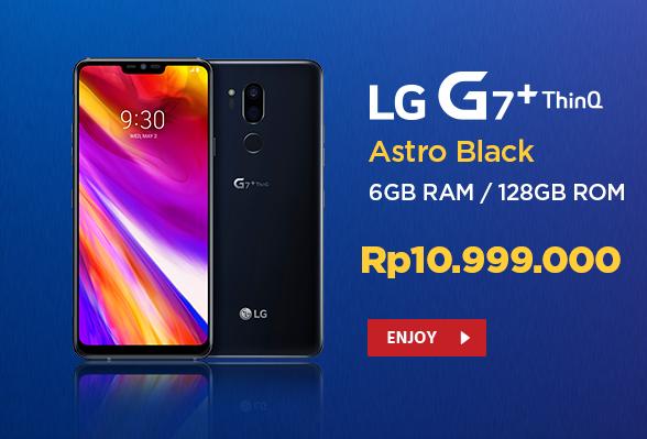 Bawah Spesifikasi Dewah LG G7+ 6/128GB di Jual Dengan Harga Segini 2