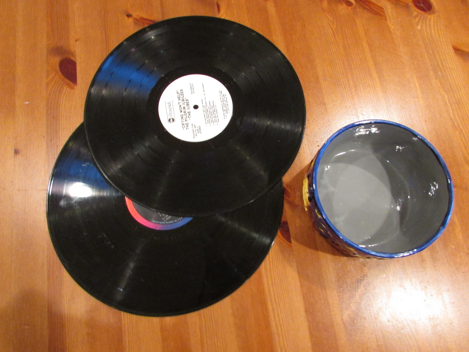 Creative Gift Idea Vinyl Record Bowls Diy Huntress