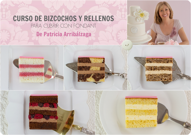 Cursos online de pastelería de diseño de Patricia Arribálzaga