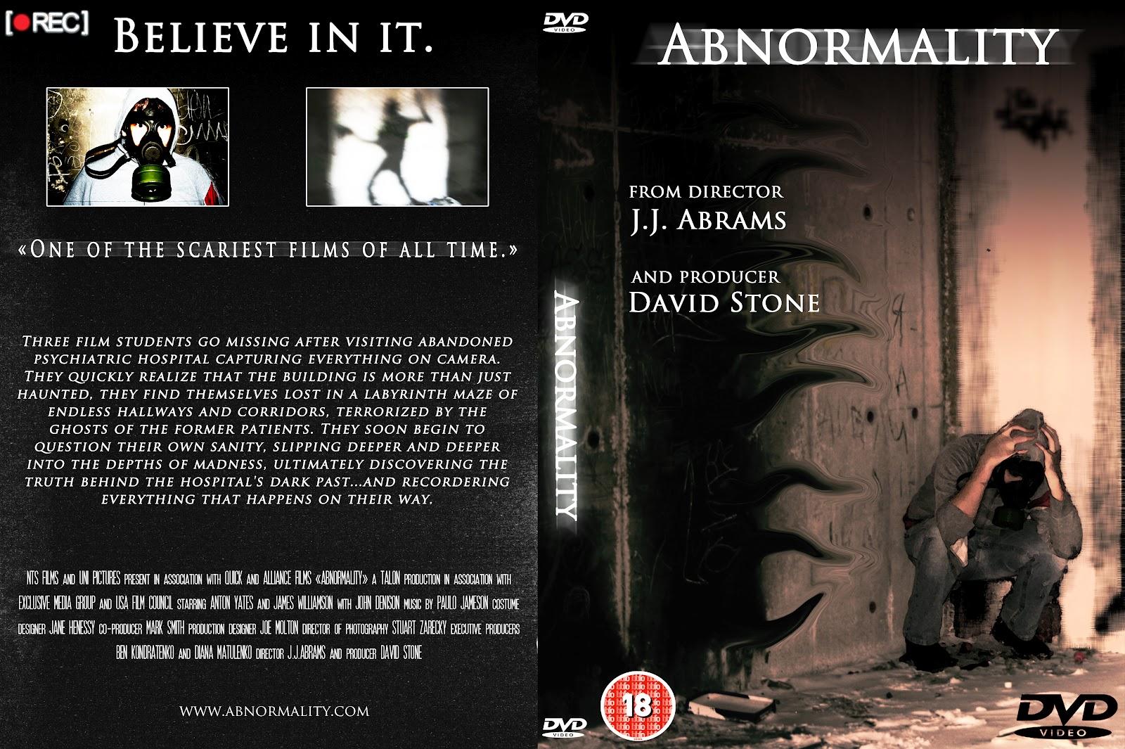 Antons Kondratenko AS Media Horror CourseWork: DVD COVER FINAL