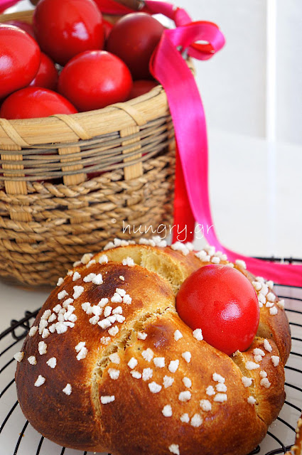 Traditional Greek Easter Bread-Tsoureki
