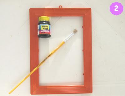 DIY bandeja espelhada - passo 2