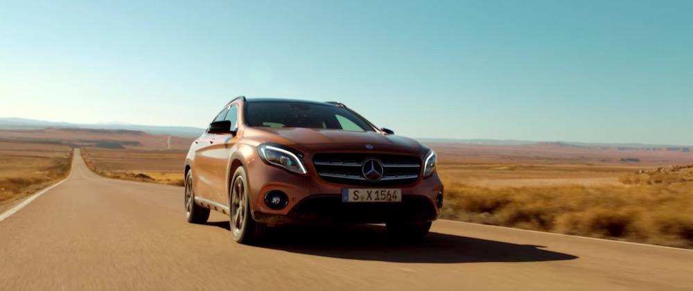 Canzone Mercedes pubblicità nuovo GLA - Musica spot Aprile 2017