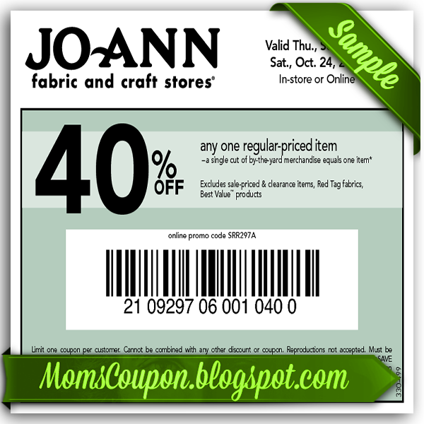 joanns coupons 2014