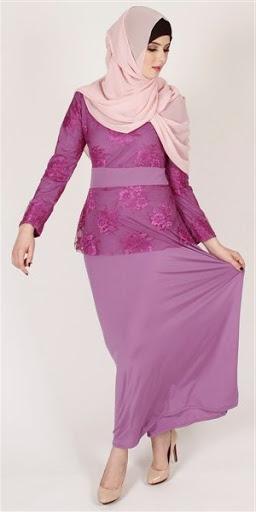 model dan desain hijab kebaya terbaru